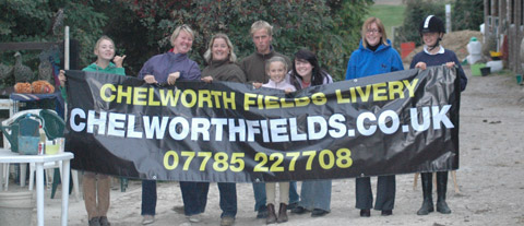Chelworth Fields new banner